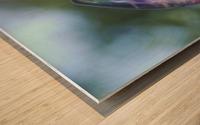 fluorite  Wood print