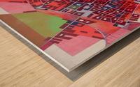 A journey to Italy Abbiategrasso Wood print