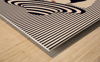Riviera glamour Wood print