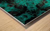 Jaded Kaleidoscope  Wood print