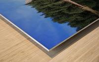 Lake Reflection Wood print