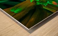 Bée  Impression sur bois