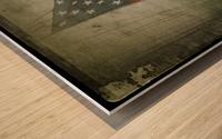 Fifteen Star Flag Wood print