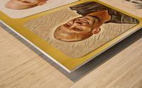 Jason Statham pop star celebrity Wood print