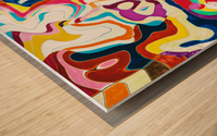 Bipolar Wood print