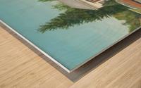 Cross Roads Store- Newtown Scenes 12 X 20  Wood print