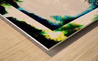 Dark Sun Wood print