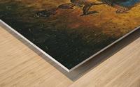 The night horserider Wood print
