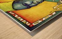 Tisserand Wood print