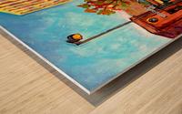 MCGILL RODDICK GATES MONTREAL SUMMER SCENE PAINTING Wood print