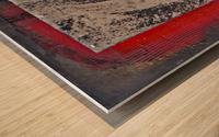 Komb 2 Wood print