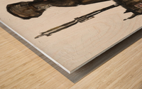 Shadow horserider 1 Impression sur bois