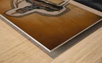 Sand horserider Impression sur bois