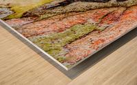 Aussie Gum Tree Bark - 9 Wood print