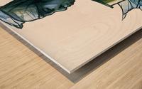 La marchande Wood print