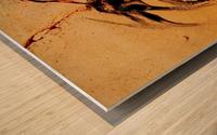 Rage Wood print