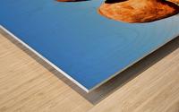 Balancing Act - Devils Marbles Wood print