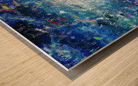 Abstract Canvas Wood print