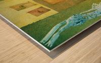 le secret Wood print