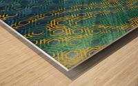 Geometric XXXXXIII Wood print