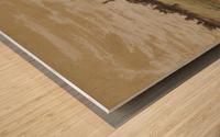 Ferme sur les hauteurs de Vichy Wood print