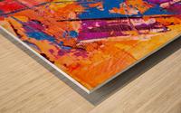 Modern art Wood print