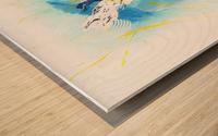 IMPULSION Wood print
