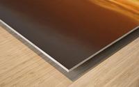 FireGold Wood print