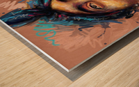 2pac Wood print