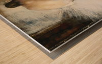 The Break Wood print
