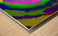 1-Beautiful Color Chaos 1 Wood print