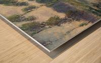 The Banks of the Eure, Saint-Cyr-du-Vaudreuil Wood print