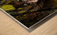 LA REVANCHE | 1 Wood print