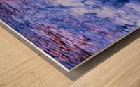 Abraham Lake Bubbles Wood print