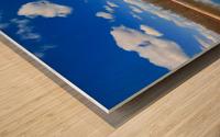 Pond Reflections Wood print
