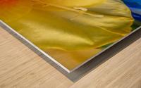 Meditation Inside Wood print