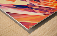 Abstract Composition 695 Wood print