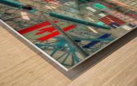 Calumet Hockeyville Wood print