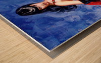 Bettie Page  Wood print
