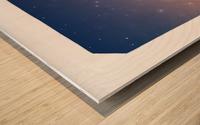 The Dazzling Flutist Wood print