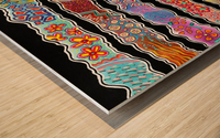 Streams Of Joy Wood print