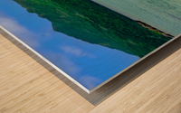 Samana Beach - Playa Rincon  Wood print
