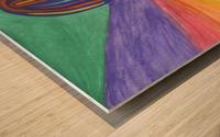 Abstraction flight Wood print
