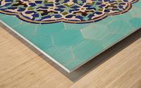 Yazd   Jameh mosque 2 Wood print