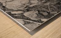 minor world falling apart Wood print