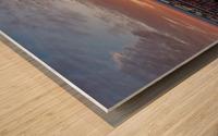 Sunrise Over Hoan Impression sur bois