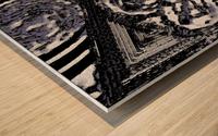 Glacial Motion, Glacial Drift Wood print