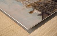 Buildings_High_Res Wood print