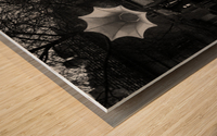 Rainy Wood print