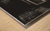 Radio Wood print